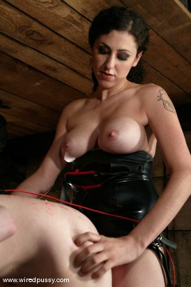 Photo number 8 from Justine Joli shot for Wired Pussy on Kink.com. Featuring Justine Joli in hardcore BDSM & Fetish porn.