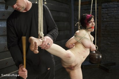 Photo number 8 from Graceful Submission shot for Sadistic Rope on Kink.com. Featuring Iona Grace in hardcore BDSM & Fetish porn.