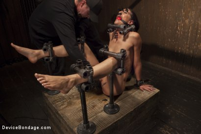 Photo number 3 from Her Body, Her Pain! shot for Device Bondage on Kink.com. Featuring Lyla Storm in hardcore BDSM & Fetish porn.