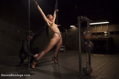Photo number 12 from Her Body, Her Pain! shot for Device Bondage on Kink.com. Featuring Lyla Storm in hardcore BDSM & Fetish porn.