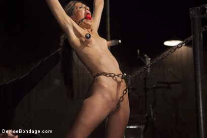 Photo number 8 from Her Body, Her Pain! shot for Device Bondage on Kink.com. Featuring Lyla Storm in hardcore BDSM & Fetish porn.