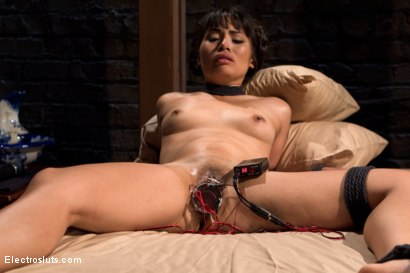 Photo number 3 from The Handmaid's Audition shot for Electro Sluts on Kink.com. Featuring Aiden Starr and Milcah Halili in hardcore BDSM & Fetish porn.