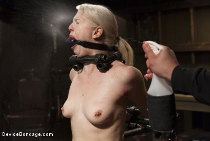 Photo number 1 from Young, Blond, All Natural Pain Slut gets a Full Dose of Brutality!! shot for Device Bondage on Kink.com. Featuring Orlando and Ella Nova in hardcore BDSM & Fetish porn.