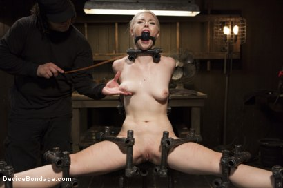 Photo number 12 from Young, Blond, All Natural Pain Slut gets a Full Dose of Brutality!! shot for Device Bondage on Kink.com. Featuring Orlando and Ella Nova in hardcore BDSM & Fetish porn.