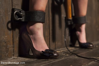 Photo number 12 from Shackled Submissive shot for Device Bondage on Kink.com. Featuring Orlando and Lola Foxx in hardcore BDSM & Fetish porn.