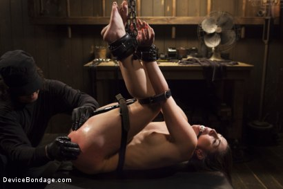 Photo number 7 from Shackled Submissive shot for Device Bondage on Kink.com. Featuring Orlando and Lola Foxx in hardcore BDSM & Fetish porn.