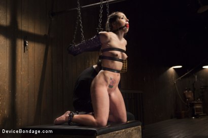 Photo number 14 from Shackled Submissive shot for Device Bondage on Kink.com. Featuring Orlando and Lola Foxx in hardcore BDSM & Fetish porn.