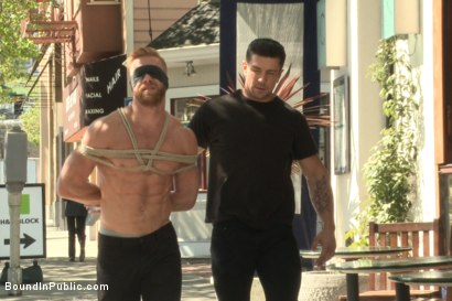 Photo number 1 from Greedy whore stuffed full of cock at a local clothing store shot for Bound in Public on Kink.com. Featuring Jessie Colter, Christopher Daniels and Trenton Ducati in hardcore BDSM & Fetish porn.
