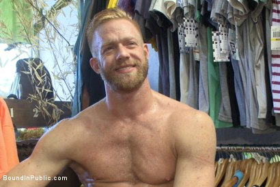 Photo number 15 from Greedy whore stuffed full of cock at a local clothing store shot for Bound in Public on Kink.com. Featuring Jessie Colter, Christopher Daniels and Trenton Ducati in hardcore BDSM & Fetish porn.
