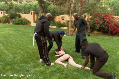 Photo number 1 from Waspy bitch takes 5 huge black cocks shot for Hardcore Gangbang on Kink.com. Featuring D Snoop, Lexington Steele, Jennifer White, John Johnson and Prince Yahshua in hardcore BDSM & Fetish porn.