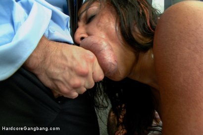 Photo number 14 from Step-father offers her up to 5 guys in order to seal a business deal. shot for Hardcore Gangbang on Kink.com. Featuring Toni Ribas, John Strong, Sadie Santana, Ramon Nomar, Astral Dust and Bill Bailey in hardcore BDSM & Fetish porn.