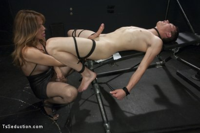Photo number 2 from Sofia Sanders is a Fantasy Come True: She's Going to Make You Beg shot for TS Seduction on Kink.com. Featuring Sofia Sanders and Micky Mackenzie in hardcore BDSM & Fetish porn.