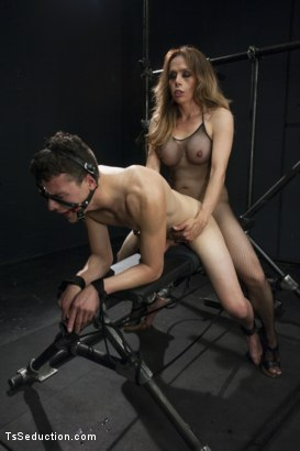 Photo number 9 from Sofia Sanders is a Fantasy Come True: She's Going to Make You Beg shot for TS Seduction on Kink.com. Featuring Sofia Sanders and Micky Mackenzie in hardcore BDSM & Fetish porn.