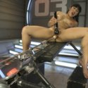 Mia Li gets toe suction, clit suction, full throttle fucking until she cums herself