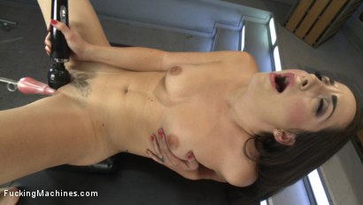 Photo number 5 from Marley Blaze is A Fiery Babe with a Squirting Pussy shot for Fucking Machines on Kink.com. Featuring Marley Blaze in hardcore BDSM & Fetish porn.