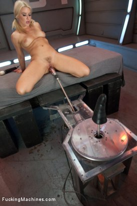 Photo number 6 from Super Blond: Annika Albright and her AWESOME Body Fuck Machines shot for Fucking Machines on Kink.com. Featuring Anikka Albrite in hardcore BDSM & Fetish porn.