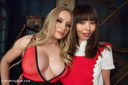 Photo number 15 from Submissive Asian Anal Slut shot for Everything Butt on Kink.com. Featuring Aiden Starr and Marica Hase in hardcore BDSM & Fetish porn.