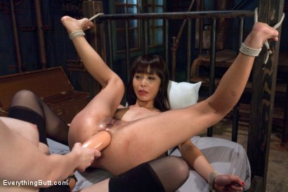 Photo number 13 from Submissive Asian Anal Slut shot for Everything Butt on Kink.com. Featuring Aiden Starr and Marica Hase in hardcore BDSM & Fetish porn.