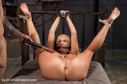 Photo number 12 from The Bombshell Bondage Slut shot for Sex And Submission on Kink.com. Featuring Mr. Pete and Summer Brielle in hardcore BDSM & Fetish porn.