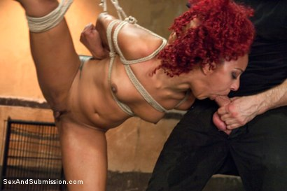 Photo number 10 from The Bondage Fuck Toy: Daisy Ducati shot for Sex And Submission on Kink.com. Featuring Bill Bailey and Daisy Ducati in hardcore BDSM & Fetish porn.