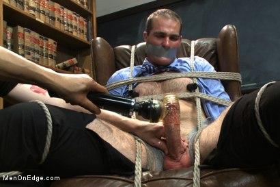 Photo number 8 from Straight professor gets edged and dildo fucked in the classroom shot for Men On Edge on Kink.com. Featuring Jonah Marx in hardcore BDSM & Fetish porn.