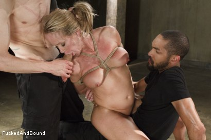 Photo number 12 from MILF Whore Stuffed with 2 Huge Cocks shot for Brutal Sessions on Kink.com. Featuring Simone Sonay, Owen Gray and Mickey Mod in hardcore BDSM & Fetish porn.