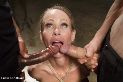 Photo number 13 from MILF Whore Stuffed with 2 Huge Cocks shot for Brutal Sessions on Kink.com. Featuring Simone Sonay, Owen Gray and Mickey Mod in hardcore BDSM & Fetish porn.