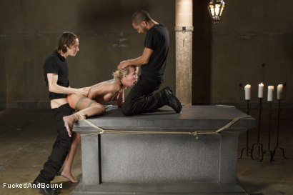 Photo number 4 from MILF Whore Stuffed with 2 Huge Cocks shot for Brutal Sessions on Kink.com. Featuring Simone Sonay, Owen Gray and Mickey Mod in hardcore BDSM & Fetish porn.