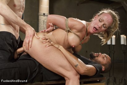 Photo number 7 from MILF Whore Stuffed with 2 Huge Cocks shot for Brutal Sessions on Kink.com. Featuring Simone Sonay, Owen Gray and Mickey Mod in hardcore BDSM & Fetish porn.