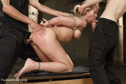 Photo number 8 from MILF Whore Stuffed with 2 Huge Cocks shot for Brutal Sessions on Kink.com. Featuring Simone Sonay, Owen Gray and Mickey Mod in hardcore BDSM & Fetish porn.