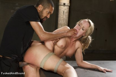 Photo number 9 from MILF Whore Stuffed with 2 Huge Cocks shot for Brutal Sessions on Kink.com. Featuring Simone Sonay, Owen Gray and Mickey Mod in hardcore BDSM & Fetish porn.