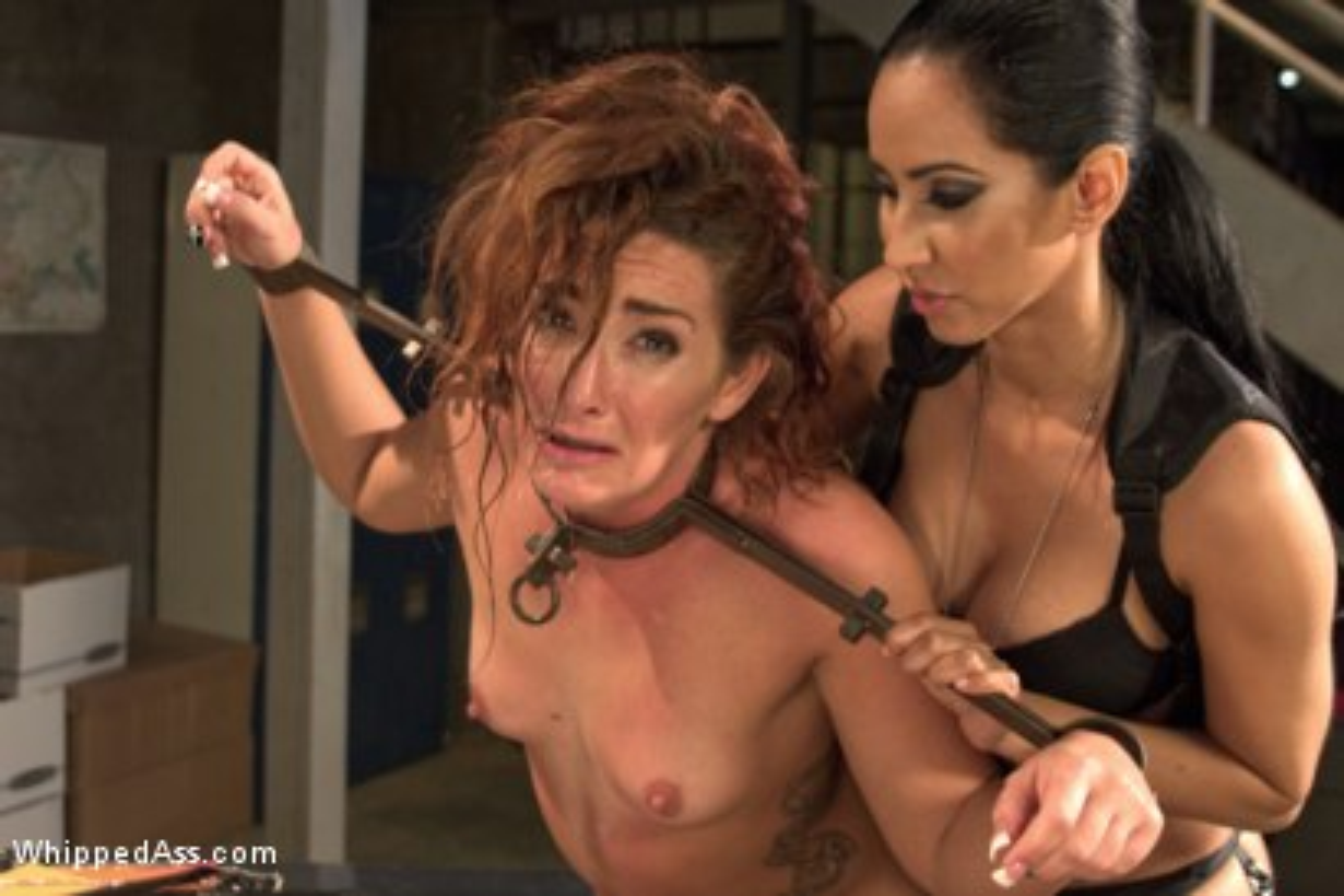 Lesbian prison gangbang have faced