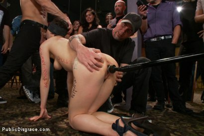 Photo number 9 from Lily LaBeau gets played in raunchy Pool Hall shot for Public Disgrace on Kink.com. Featuring Lily LaBeau, Bill Bailey and Isis Love in hardcore BDSM & Fetish porn.