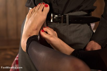 Photo number 14 from Wiggling Toes and Fisting: True Romance shot for Foot Worship on Kink.com. Featuring Mickey Mod and Milcah Halili in hardcore BDSM & Fetish porn.