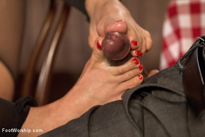 Photo number 16 from Wiggling Toes and Fisting: True Romance shot for Foot Worship on Kink.com. Featuring Mickey Mod and Milcah Halili in hardcore BDSM & Fetish porn.
