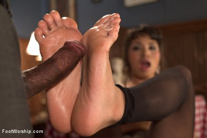 Photo number 21 from Wiggling Toes and Fisting: True Romance shot for Foot Worship on Kink.com. Featuring Mickey Mod and Milcah Halili in hardcore BDSM & Fetish porn.