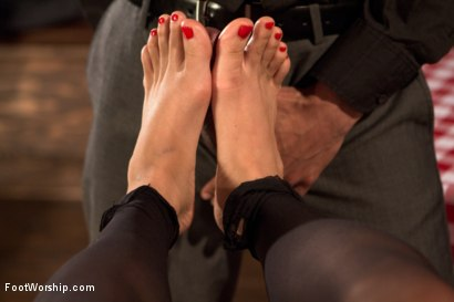 Photo number 22 from Wiggling Toes and Fisting: True Romance shot for Foot Worship on Kink.com. Featuring Mickey Mod and Milcah Halili in hardcore BDSM & Fetish porn.