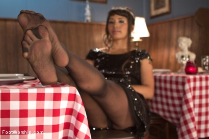 Photo number 6 from Wiggling Toes and Fisting: True Romance shot for Foot Worship on Kink.com. Featuring Mickey Mod and Milcah Halili in hardcore BDSM & Fetish porn.