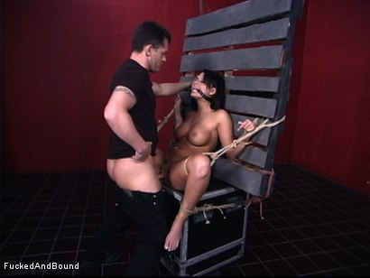 Photo number 9 from Face Fucked Bitch shot for Brutal Sessions on Kink.com. Featuring Eva Angelina and Chris Cannon in hardcore BDSM & Fetish porn.