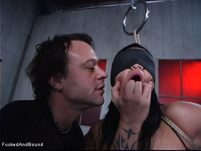 Photo number 3 from Latina Cum Gobblet shot for  on Kink.com. Featuring Lorena Sanchez and Kurt Lockwood in hardcore BDSM & Fetish porn.