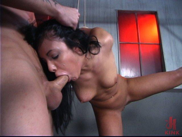 Photo number 6 from Latina Cum Gobblet shot for Brutal Sessions on Kink.com. Featuring Lorena Sanchez and Kurt Lockwood in hardcore BDSM & Fetish porn.