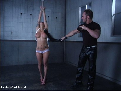 Photo number 1 from The Cock Feeding shot for Fucked and Bound on Kink.com. Featuring Marcus London and Regan Reese in hardcore BDSM & Fetish porn.