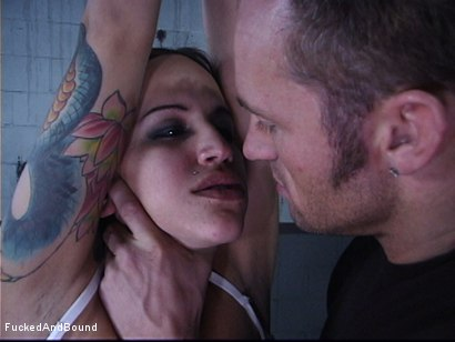 Photo number 2 from The Cock Feeding shot for Fucked and Bound on Kink.com. Featuring Marcus London and Regan Reese in hardcore BDSM & Fetish porn.