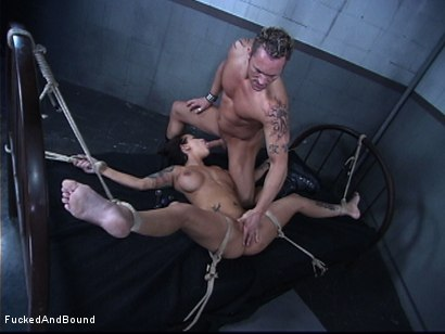 Photo number 11 from The Cock Feeding shot for Fucked and Bound on Kink.com. Featuring Marcus London and Regan Reese in hardcore BDSM & Fetish porn.