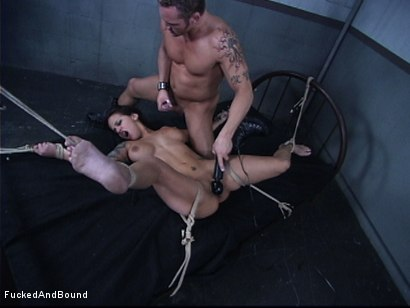 Photo number 12 from The Cock Feeding shot for Fucked and Bound on Kink.com. Featuring Marcus London and Regan Reese in hardcore BDSM & Fetish porn.