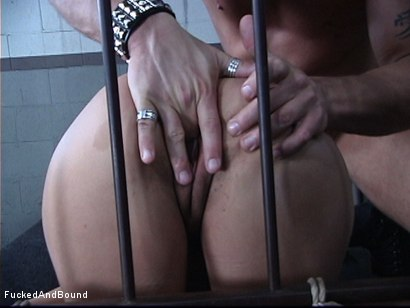 Photo number 13 from The Cock Feeding shot for Fucked and Bound on Kink.com. Featuring Marcus London and Regan Reese in hardcore BDSM & Fetish porn.