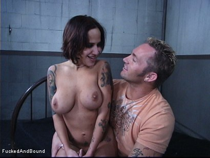Photo number 16 from The Cock Feeding shot for Fucked and Bound on Kink.com. Featuring Marcus London and Regan Reese in hardcore BDSM & Fetish porn.