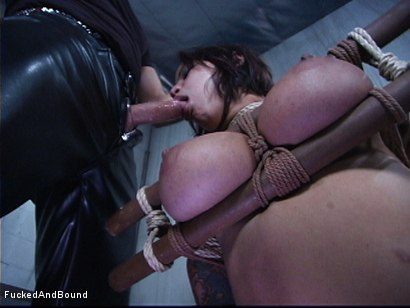 Photo number 6 from The Cock Feeding shot for Fucked and Bound on Kink.com. Featuring Marcus London and Regan Reese in hardcore BDSM & Fetish porn.