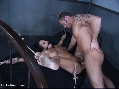 Photo number 9 from The Cock Feeding shot for Fucked and Bound on Kink.com. Featuring Marcus London and Regan Reese in hardcore BDSM & Fetish porn.