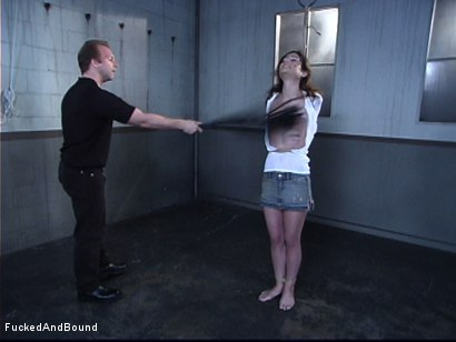 Photo number 1 from Breaking Amber Rayne shot for  on Kink.com. Featuring Amber Rayne and Brandon Iron in hardcore BDSM & Fetish porn.